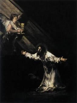 Francisco Goya: Chrystus na Górze Oliwnej