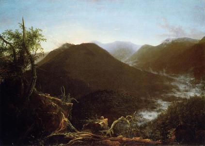 Thomas Cole: Wschód słońca w górach Catskill