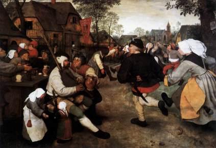 Pieter Brueghel Starszy: Taniec chłopski