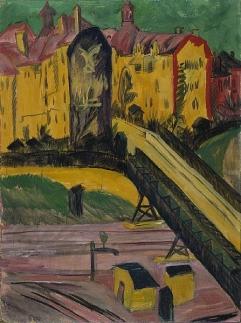 Ernst Ludwig Kirchner: Widok z okna