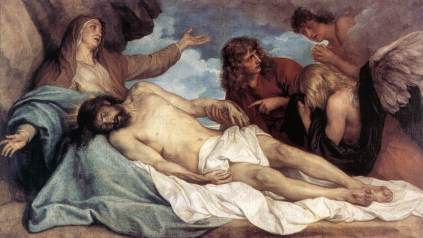 Anthony van Dyck: Lamentacje nad zmarłym Panem