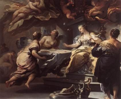Luca Giordano: Psyche i duchy niewidzialne