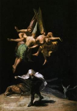 Francisco Goya: Czarownice w powietrzu