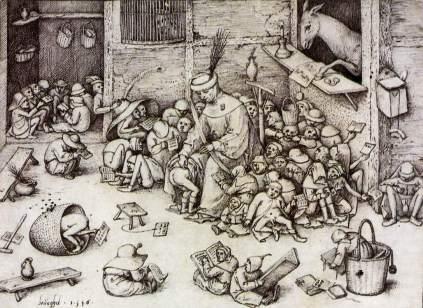Pieter Brueghel Starszy: Szkoła rysunku