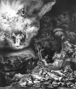 Rembrandt: Anioł