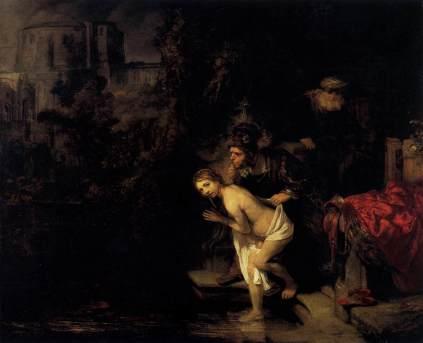 Rembrandt: Zuzanna i starcy