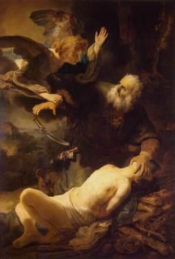 Rembrandt: Ofiara Izaaka