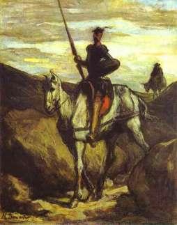 Honoré Daumier: Don Kichot