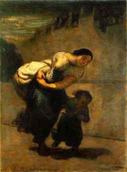 Honoré Daumier: Praczka