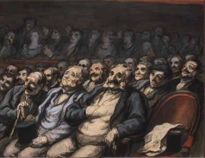 Honoré Daumier: Miejsca dla orkiestry