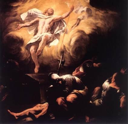 Luca Giordano: Zmartwychwstanie Pańskie