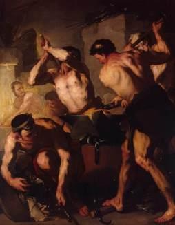 Luca Giordano: Kuźnia Wulkana