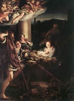 Correggio: Noc Narodzenia