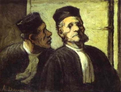 Honoré Daumier: Prawnicy