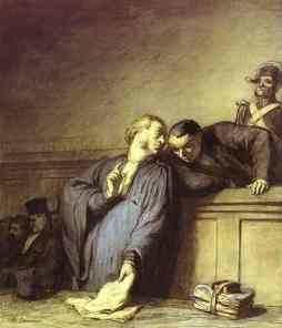 Honoré Daumier: Casus kryminalny