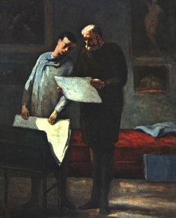 Honoré Daumier: Rada dla młodego artysty