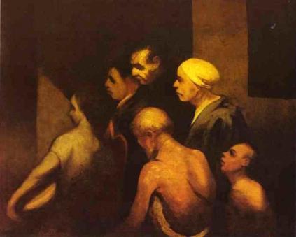 Honoré Daumier: Żebracy