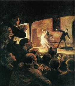 Honoré Daumier: Tragedia