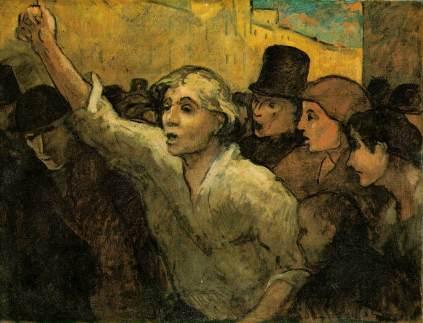 Honoré Daumier: Powstanie