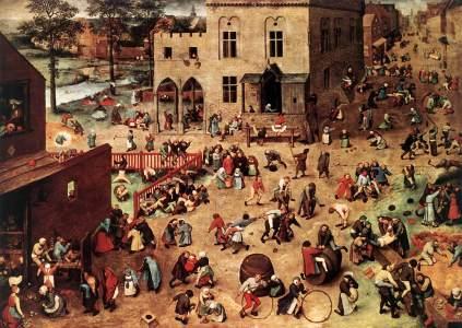 Pieter Brueghel Starszy: Gry dziecięce