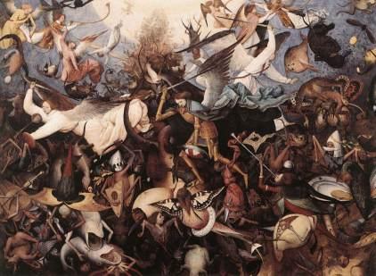 Pieter Brueghel Starszy: Bunt aniołów