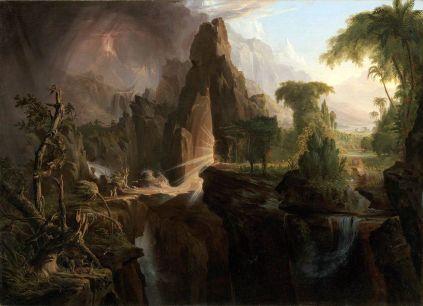 Thomas Cole: Wygnanie z Edenu