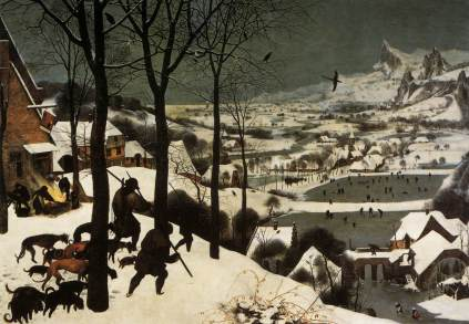 Pieter Brueghel Starszy: Zima