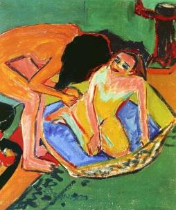 Ernst Ludwig Kirchner: Dziewczęta