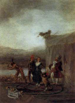 Francisco Goya: Komedianci