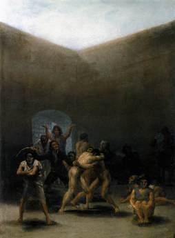 Francisco Goya: Zaułek szaleńców