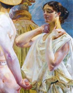 Jacek Malczewski: Orfeusz i Eurydyka (I)