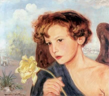 Vlastimil Haofman: Aniol z tulipanem