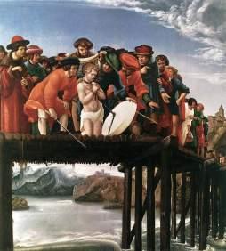 Albrecht Altdorfer: Męczeństwo św. Floriana