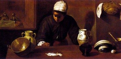 Diego Velázquez: Kuchnia
