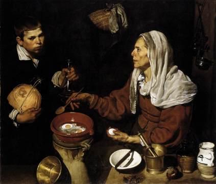 Diego Velázquez: Stara kucharka