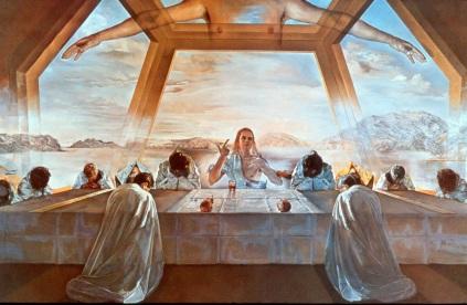 Salvadore Dali: Ostatnia wieczerza