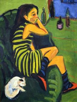 Ernst Ludwig Kirchner: Artystka