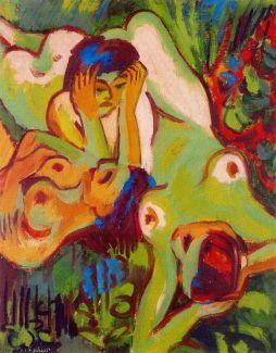 Ernst Ludwig Kirchner: Kąpiące się