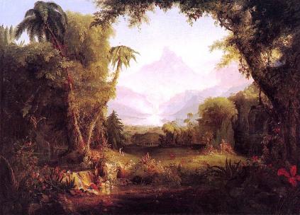 Thomas Cole: Ogrody Edenu