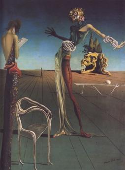 Salvadore Dali: Kobieta z głową róży