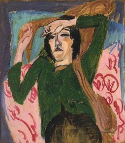 Ernst Ludwig Kirchner: Kobieta w zielonej bluzce