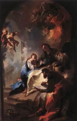 Franz Anton Maulbertsch: Edukacja Maryi