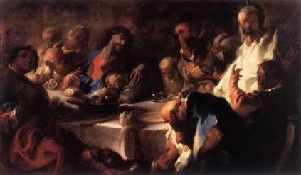 Franz Anton Maulbertsch: Ostatnia wieczerza