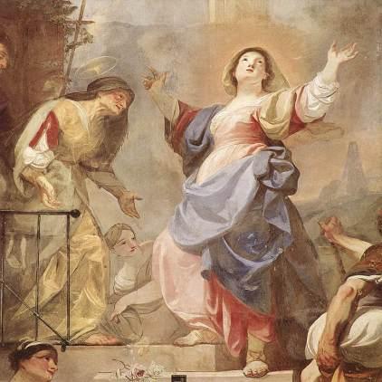 Franz Anton Maulbertsch: Nawiedzenie Elżbiety
