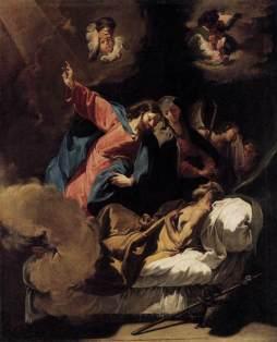 Giovanni Battista Pittoni: Śmierć Józefa