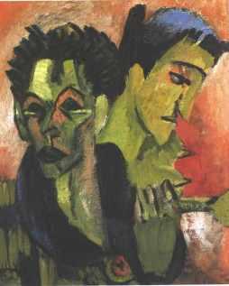 Ernst Ludwig Kirchner: Podwójny autoportret