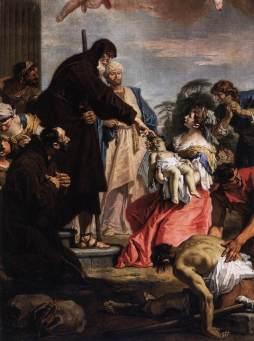 Sebastiano Ricci: Św. Franciszek z Paola wskrzeszający dziecko