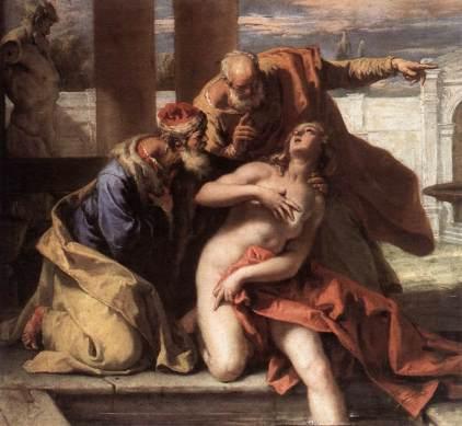 Sebastiano Ricci: Zuzanna i starcy