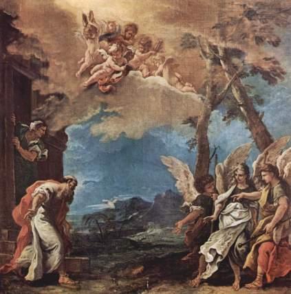 Sebastiano Ricci: Abraham i aniołowie