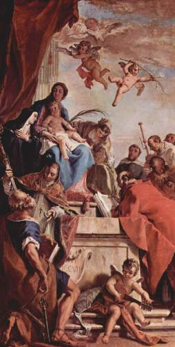 Sebastiano Ricci: Madonna ze świętymi
